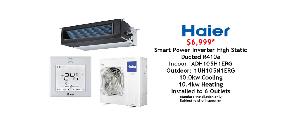 haier ducted