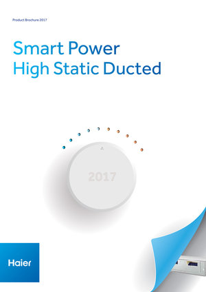 Haier-AC-Smart-Power-Hi-ESP-Duct-Brochure